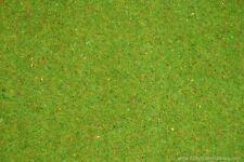 NOCH HO scale ~ GRASS MAT 'FLOWERING MEADOW' ~ 120 X 60CM SHORT 2.5mm
