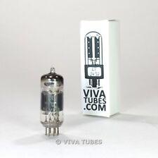 Tests NOS Amperex France CV138=6AM6 [EF91] Silver Ladder Plate Vacuum Tube 100+%