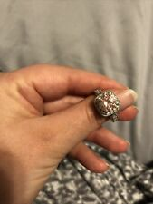 ring size 7 sterling silver engagement