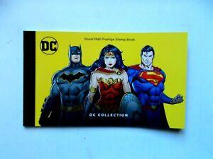GREAT BRITAIN: 2021 Prestige Book DY40 DC Comics U/M 5panes