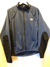 Pearl Izumi Blue Long Sleeve Full Zip Cycling Jacket Mens Medium