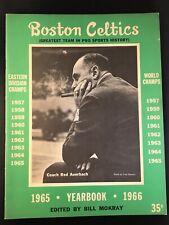 1965-66 BOSTON CELTICS YEARBOOK  Ex