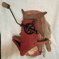International Seed Sower Montgomery Ward & Co. Grass seeder antique!