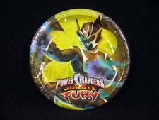 8 Power Rangers Jungle Fury PLATES Birthday Party Supplies Cake Dessert 3 images