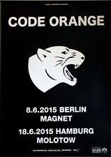 Codice arancione - 2015-TOUR MANIFESTO-concert-I AM KING-TOUR Poster