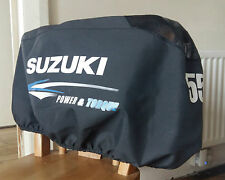 SUZUKI 55 HP OUTBOARD ENGINE PROTECTIVE COWLING HOOD COVER - EXCELLENT CONDITION