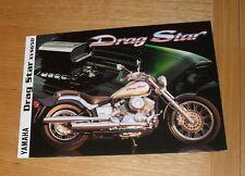 Yamaha Drag Star XVS 650 Motorcycle Brochure 1997