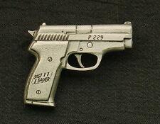 Empire Pewter Sig Sauer P229 Handgun Pewter Pin