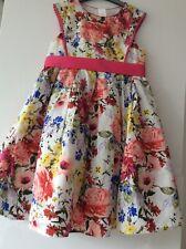 Monsoon girls flower dress 7years