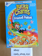 NEW Lucky Charms Frosted Flakes Cereal 13.8 oz General Mills marshmallows corn