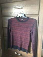 J Crew Long Sleeve Lambwool Pullover Sweater Size XS