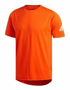 Adidas Men's Open Orange Training Contoured Short Sleeve T-Shirt
