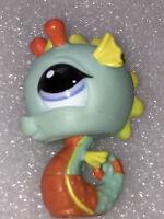 Littlest Pet Shop LPS Toy Sea Creatures & Fish Figures Octopus Crab