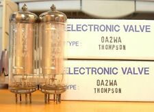2 new Industrial grade 0A2 tubes England matched pair 0A2 for Seeburg jukebox
