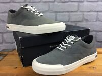 TOMMY HILFIGER MENS UK 7 EU 41 HTG GREY SUEDE SNEAKER TRAINERS RRP £85 EP
