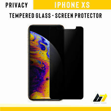 New Anti-Spy Privacy Tempered Glass 9H Hard Screen Protector For Apple iPhone XS