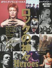 ROCK HEROES JAPAN BOOK~DAVID BOWIE,LED ZEPPELIN,CLASH,KISS,SEX PISTOLS,QUEEN