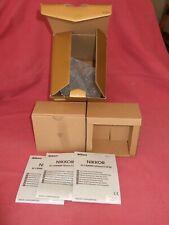 *** BOX/imballaggio + MANUALI D'USO SOLO *** per Nikon Nikkor AF-S 105mm f/1.4E ED