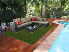 Grass Carpet (Artificial Grass) Mat 4.0 metre x 2.0 metre. Fully edged.