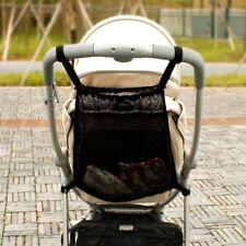 Stroller Net Baby Bag Infant Mesh Bottle Diaper Holder Pocket Storage Organizer