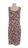 ca62a4d9d56 BODEN Women s Multi Sleeveless Scoop Neck Detailed Dress w  Side-Zip US 2 P