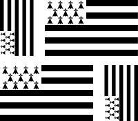 4 x Aufkleber Auto Sticker tuning motorrad Autoaufkleber Fahne Flagge Bretagne