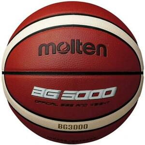BG3000 Synthetic Leather Indoor/Outdoor Basketball Size 7 From Molten