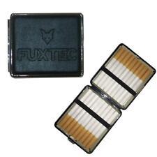FUXTEC Zigaretten Etui Zigarettenschachtel Aufbewahrung Box Lederoptik Leder