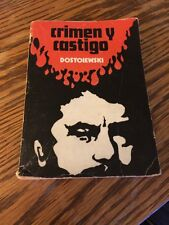 Crimen y Castigo- Dostoiewski (traduccion de Alfonso Nadal) Vintage Paperback