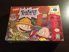 Rugrats: Scavenger Hunt Nintendo 64 N64 1999 New Sealed Free Shipping