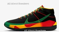 "Nike KD 13 Rasta ""Black Green/Yellowi"" Men's Trainers Limited Stock All Sizes"