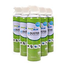 6 x Air Duster Reinigung Druckluft Spray 600ml Druckluftspray Druckluftreiniger
