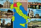 CARTOLINA POSTCARD NON V.TA ED. CO.VE.S 13 LOMBARDIA - SOUVENIR LE PROVINCE