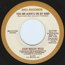 JOHN WESLEY RYLES Always On My Mind b/w Angel Got Her Wings ((**NEW 19769 45**))