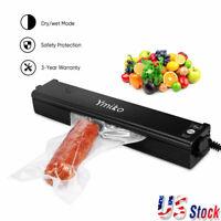 Automatic Food Vacuum Sealer Machine Storage Kitchen Meal Sealing Saver +20 Bags