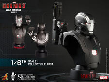 HOT TOYS IRON MAN 3 WAR MACHINE MK II 2 1/6 SCALE LIMITED EDITION BUST HTB16 NEW