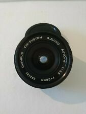 Olympus OM-SYSTEM G.Zuiko Auto-W 28mm f/3.5 Lens - in Excellent condition