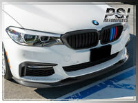 3D Style Carbon Fiber Front Bumper Add-on Lip For 2017-2019 BMW G30 M sports CF
