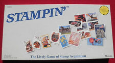 Stampin' Game Lively Game Of Stamp Acquisition Board Game 1989 US Postal Service
