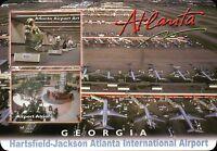 PLEASE READ ! Hartsfield-Jackson Atlanta International Airport Georgia, Postcard
