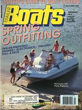 Trailer Boats - April 1992 - America's Only Trailer Boating Magazine