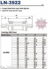 TANGE 68 x 107mm Square Taper Bottom Bracket Cartridge JIS Bike Crank Bearings