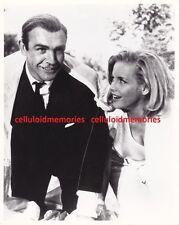 Photo James Bond 007 Goldfinger Pussy Galore Honor Blackman Sean Connery