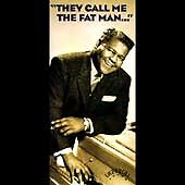 "FATS DOMINO, 4 CD BOX SET & 84 PAGE BOOKLET ""THEY CALL ME FAT MAN"" NEW SEALED"