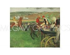 DEGAS EDGAR - THE RACE COURSE: AMATEUR JOCKEYS NEAR A CARRIAGE, 1876-1887 (2043)