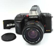 EXC+5 Yashica Kyocera  210-AF 35mm SLR w/35-105mm f/3.5-4.5 , Strap from Japan