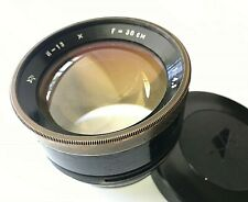 Rare Industar 13 f4.5/300mm lens FOR FKD RUSSIAN WOODEN CAMERA Version 2