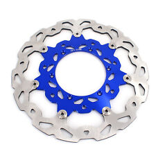Front Oversize 320MM Brake Floating Disc For YAMAHA YZ250F YZ450F 2002-2021 Blue