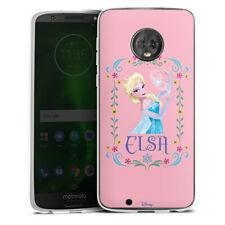 Lenovo MOTO g6 Custodia in silicone case cellulare-Elsa