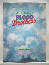 BLOOD BROTHERS Large Program KIKI DEE / CON O'NEIL / ROBERT LOCKE London 1988